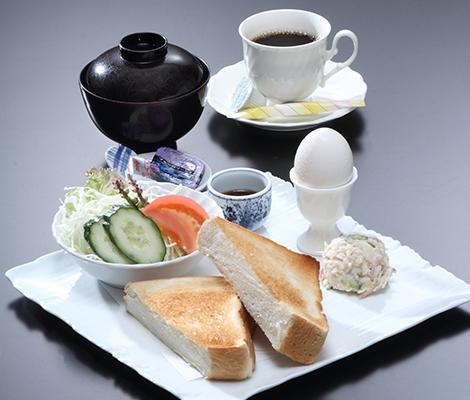 朝食〜洋食
